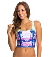 Seafolly Desert Springs Midkini Bikini Top