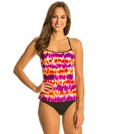 Nike Swim Women's Motion Blur Racerback Tankini Top