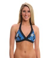 Nike Swim Women's Fracture Reversible Halter Top