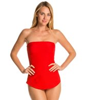 Gottex Architecture Bandeau One Piece Swimsuit