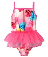 Flapdoodles Girls' Rosie Tutu One Piece (2T-4T)
