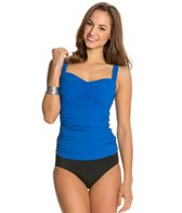 Profile by Gottex Solid Tutti-Fruit Tankini Top (D-Cup)