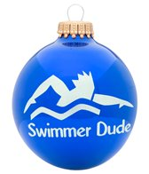 Bay Six Swimmer Dude Ornament
