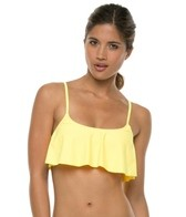 Body Glove Ivy Flutter Crop Bikini Top