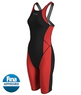 Dolfin Women's Platinum2 Color Kneeskin Tech Suit