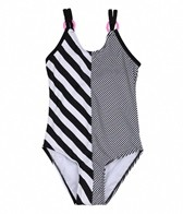 Gossip Girl Bubbly Stripe One Piece (7-16)