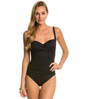 La Blanca Core Solid Sweetheart One Piece Swimsuit