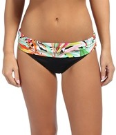 La Blanca Glamazon Shirred Band Hipster Bikini Bottom