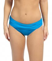la-blanca-core-solid-shirred-band-hipster-bikini-bottom
