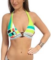 trina-turk-color-block-plaid-buckle-front-halter-top