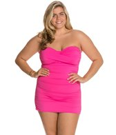 anne-cole-plus-size-twist-front-bandeau-swim-dress