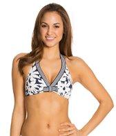 Anne Cole Daisy Halter Bra Bikini Top