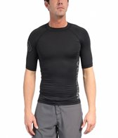 Volcom Men's Solid Short Sleeve Rashguard