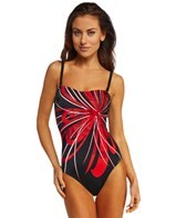 Sunmarin Madagaskar Flower Bandeau One Piece