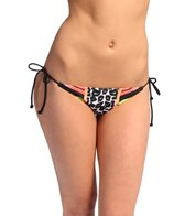 FOX Forced Ruched String Bikini Bottom
