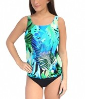 Topanga Animated Amazon Tank Strap Blouson Mastectomy Tankini Top