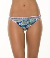 Hobie Bloom to the Loom Banded Hipster Bikini Bottom