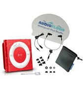 AudioFlood 2GB Waterproof iPod Shuffle Bundle (4th Gen)