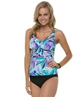 Miraclesuit Pastel Perfect Lagoon Tankini Top