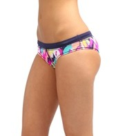 Roxy Beach Rider Multi Motion Cheeky Bikini Bottom