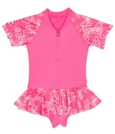Seafolly Girls' Neon Pop Playsuit (3-24mos)