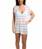 Jordan Taylor Vibrant Stripe Scoop Neck Tunic
