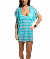 Jordan Taylor Vibrant Stripe Scoop Neck Tunic
