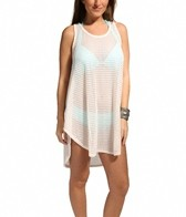 Jordan Taylor Fishbone Braid Hi-Lo Tank Dress