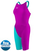 Speedo LZR Racer Elite 2 Comfort Strap Kneeskin Tech Suit Swimsuit