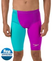 Speedo LZR Racer Elite 2 High Waist Jammer Tech Suit Swimsuit