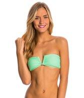 Rip Curl Swimwear Safari Sun Solid Bandeau Bikini Top