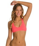 Rip Curl Swimwear Mirage Solid Reversible Crossback Halter Bikini Top