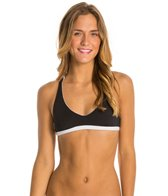 Rip Curl Mirage Solid Reversible Crossback Halter Bikini Top