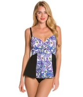 Fit4U Dolce Underwire Peplum One Piece Swimsuit