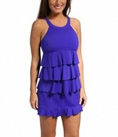 Fit4U Post-Mastectomy Triple Tiered High Neck Skirtini