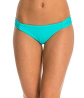 Hurley Women's One & Only Solids Strap Side Bikini Bottom