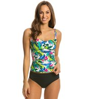 Eco Swim Tropical Princess Seam Tankini