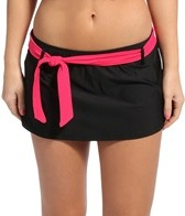 Eco Swim Solid Belted Swim Skirtster