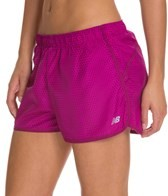 New Balance Women's Accelerate Running Short Printed