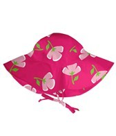 iPlay Girls' Fucshia Buttercup UV Sun Protection Hat (0mos-4yrs)