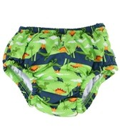 iPlay Boys' Lime Prehistoric Snap Swim Diaper (6mos-4yrs)