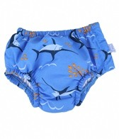 iPlay Boys' Periwinkle Swordfish Snap Swim Diaper (0mos-4yrs)