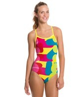 Arena Following Brights High Light-Drop Back One Piece Swimsuit