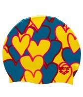 Arena Tickers Print Swim Cap