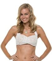 jantzen-dolce-vita-lace-shirred-bandeau-bikini-top