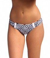 Laundry By Shelli Segal Seville Ruched Hipster Bikini Bottom