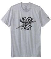 Speedo Men's Never Too Fast S/S Tee