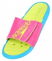 Speedo Women's Exsqueeze Me Rip Slide Sandals
