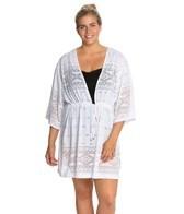 Dotti Plus Aztec Paradise V-Neck Kimono