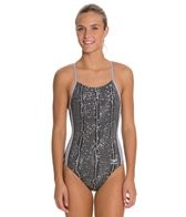 Speedo Endurance + Water Grid Touch Back Training Swimsuit